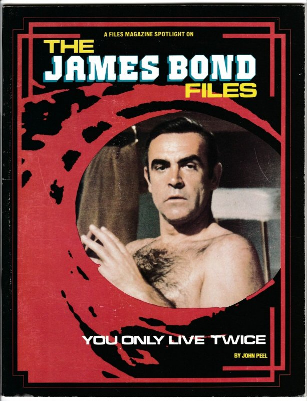 James Bond Files Magazine #5 | Sean Connery | You Only Live Twice (1995) FN