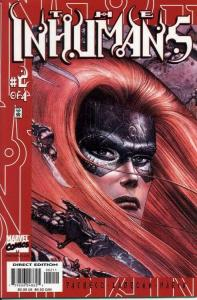 INHUMANS #2 NM- AGT7PK