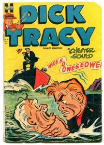 DICK TRACY #68-1953-HARVEY-CHESTER GOULD-good+