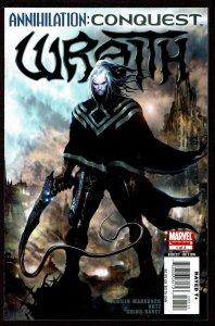Annihilation Conquest Wraith #1  (Sep 2007, Marvel)  9.0 VF/NM