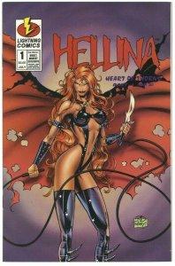 Hellina: Heart of Thorns #1 (of 2) - Lightning Comics - July 1996