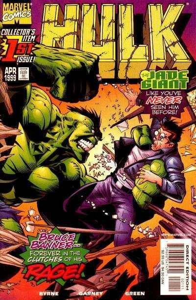 Hulk (1999 series) #1, NM + (Stock photo)