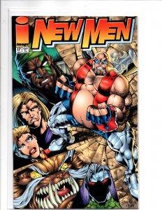 Image Comics Newmen #17 Todd Nauck Cover & Art Eric Stephenson Story Girth