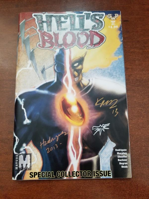 Hell's Blood #2.5-NM/MT-Special Collector Issue