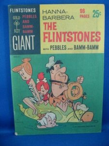 FLINTSTONES 1 GIANT F VF 1965