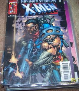 X-MEN COMIC # 107 2001 marvel bishop  maximum security