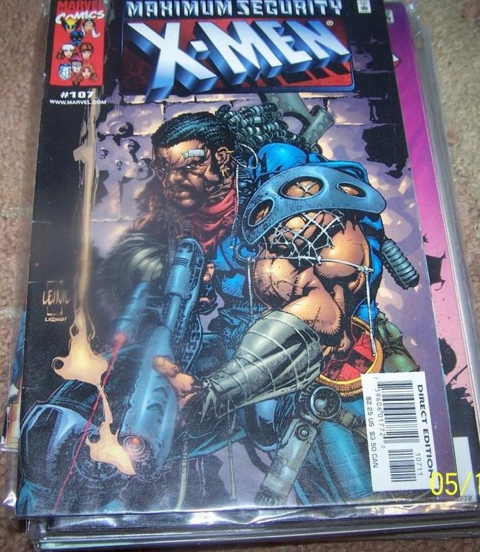 X MEN # 107 2000  Marvel DEATHBIRD SHRIAR BISHOP