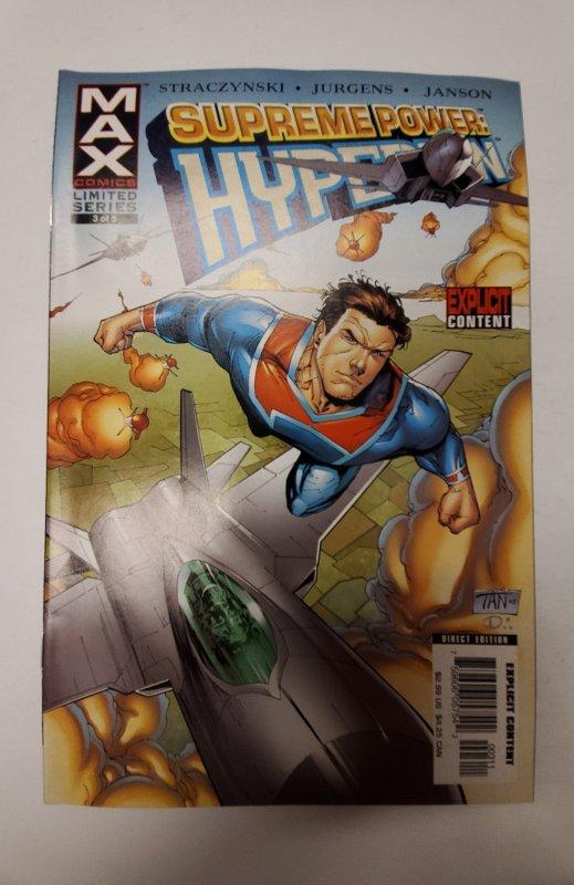 Supreme Power: Hyperion #3 (2006) NM Max Comic Book J655