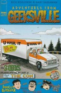 GEEKSVILLE #3, NM, Rich Koslowski, 2000, Gary Sassaman, more indies in store