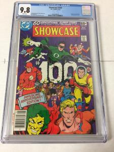 Showcase 100 Cgc 9.8 White Pages