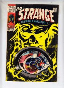 Doctor Strange #181 (Jul-69) FN+ Mid-High-Grade Dr. Strange in full costume