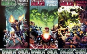 INCREDIBLE HULKS ENIGMA FORCE (2010) 1-3 'Dark Son'