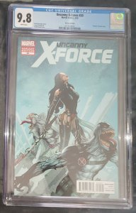 Uncanny X-Force #20 Marvel 2012 1:50 Renaud Venomized Variant Venom CGC 9.8 NM/M