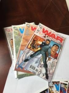 Superman War Of The Supermen 1-4 1 2 3 4 Variants Also Included All Nm/M 8 Total