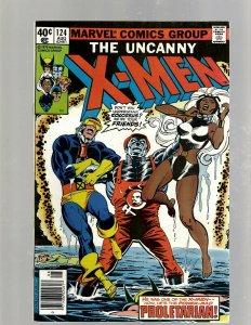 (Uncanny) X-Men # 124 NM- Marvel Comic Book Beast Angel Cyclops Magneto SM19
