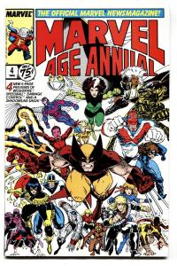 Marvel Age Annual #4-First DAMAGE CONTROL- Comic Book