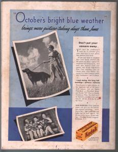 Saturday Evening Post 10/17/1936-Lyendecker elephant cover-complete magazine-VG