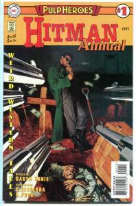 HITMAN Annual #1, NM, Garth Ennis, Ezquerra, Merc, 1997, Coffin full of Dollars,