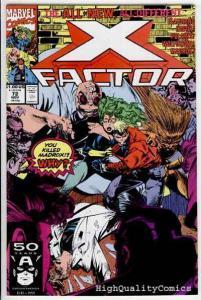 X-FACTOR #72, NM+, New Team, Peter David, Milgrom, more XF in store