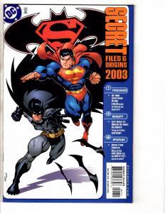 4 Secret Files & Origins DC Comic Books # 1 (4) Batman Superman Titans JLA J257