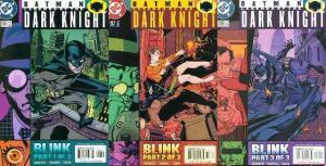 BATMAN LEGENDS OF THE DARK KNIGHT 156-158 Blink