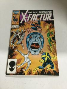 X-Factor 6 Nm- Near Mint- First Appearance Of Apocalypse Marvel