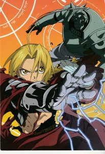 Full Metal Alchemist Collectible Post Card  Based on the hit Anime series !
