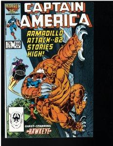 Captain America #316 (Marvel, 1986)