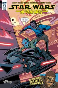 Star Wars Adventures #11 Cvr B (IDW, 2018) NM