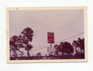New Smyrna Speedway Sign-Winternationals-1973-VG-Color Photo
