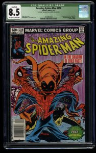 Amazing Spider-Man #238 CGC VF+ 8.5 Off White to White 1st Hobgoblin!