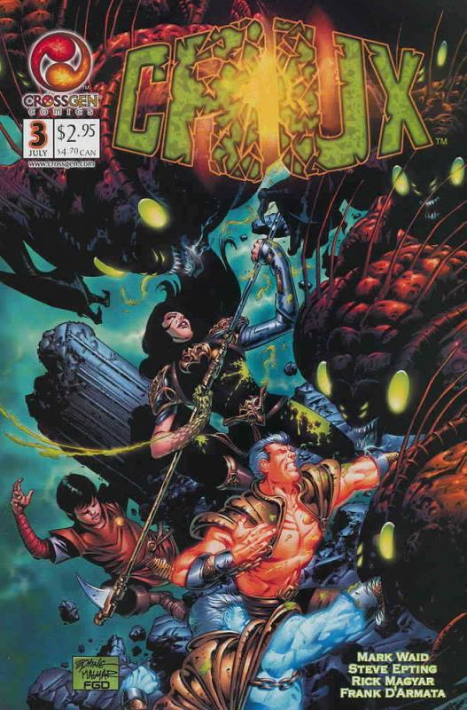 Crux #3 VF/NM; CrossGen | save on shipping - details inside