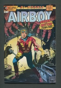 Airboy #9  /  7.5 VFN-  / November 1986