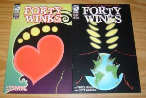Forty Winks: Mr. Horrible #1-2 VF/NM complete series - here there be monsters