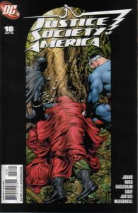 Justice Society of America (2nd Series) #18A VF/NM; DC   save on shipping - deta