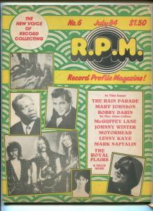 Record Profile Magazine #6 1984-Bobby Darin-Motorhead-Lenny Kaye-FN