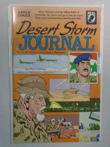 Desert Storm Journal #1B Saddam Cover 8.0 VF (1991)