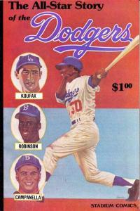Stadium Comics: The Los Angeles Dodgers #1, VF- (Stock photo)