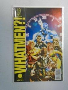 Whatmen #0 Watchmen parody NM (2009 IDW)