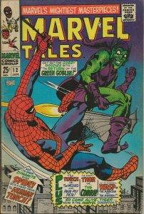 Marvel Tales #12 ORIGINAL Vintage 1968 Marvel Comics Reprints Spiderman 17