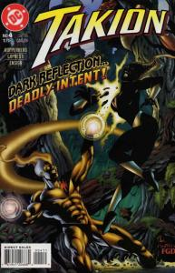 Takion #4 VF/NM; DC | save on shipping - details inside