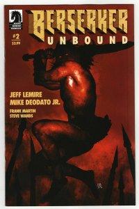 Berserker Unbound #2 Cvr B Sorrentino (Dark Horse, 2019) NM
