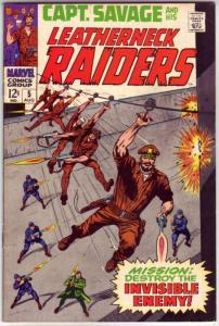 Captain Savage and His Leatherneck Raiders #5 (Aug-68) VF+ High-Grade Captain...