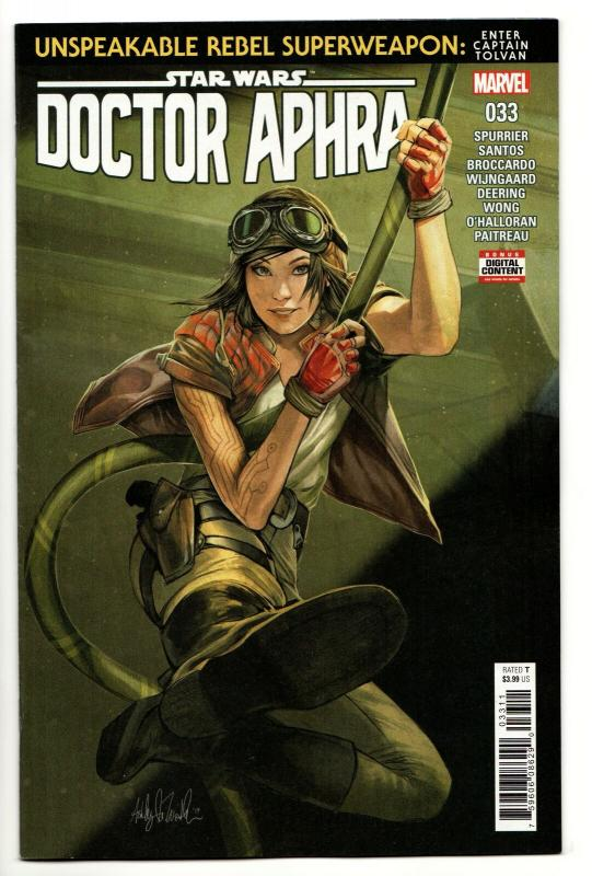 Star Wars Doctor Aphra #33 (Marvel, 2019) NM