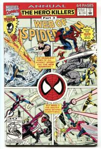 WEB OF SPIDER-MAN ANNUAL #8 SOLO VENOM story  comic book MARVEL