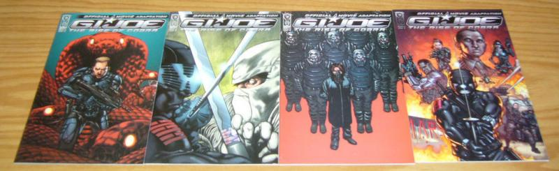 G.I. Joe: Rise of Cobra - Movie Adaptation #1-4 VF/NM complete series idw comics