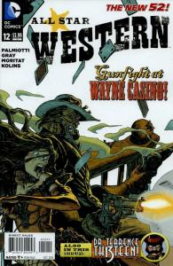 All Star Western (3rd Series) #12 VF/NM; DC   save on shipping - details inside
