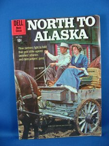 Four Color 1155 NORTH TO ALASKA Fine+ John Wayne Photo Cover 1960