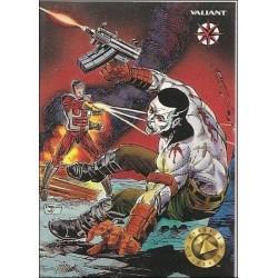 1993 Valiant Era BLOODSHOT #2 - Card #118