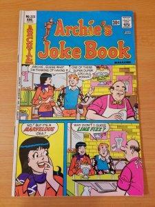 Archie's Joke Book #223 ~ FINE FN ~ 1976 Archie Comics